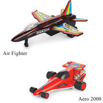 Min Toy Pull Back Combo Offer Of Air Fighter With Aero 2000 (Color May Varry)