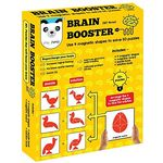 Play Panda Brain Booster Type 3 - 56 puzzles designed to boost intelligence - with Magnetic shapes, Magnetic board, Puzzle book and Solution book