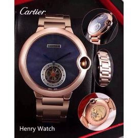 Cartier Steel Henry Watch