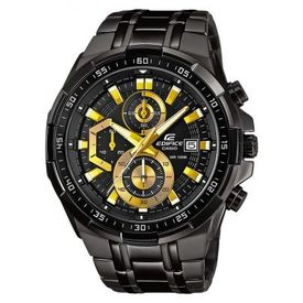 Casio Edifice Stopwatch Chronograph Multi-Colour Dial Men s Watch - EFR-539BK-1AVUDF (EX187)
