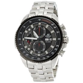 Casio Edifice Tachymeter Chronograph Black Dial Men s Watch - EF-558D-1AVDF (ED436)
