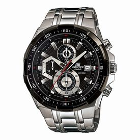 Casio Edifice Stopwatch Chronograph Black Dial Men s Watch - EFR-539D-1AVUDF (EX191)